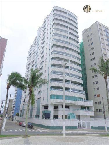 Apartamento Com 3 Dormitórios À Venda, 174 M² Por R$ 603.500,00 - Vila Guilhermina - Praia Grande/sp - Ap1940