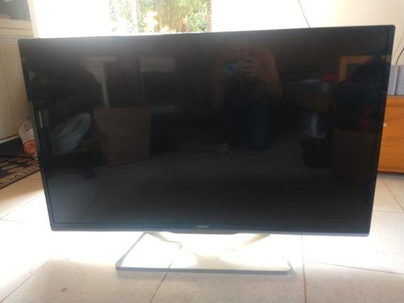 Tv Philips 46pfl5508g/78 Tela Boa