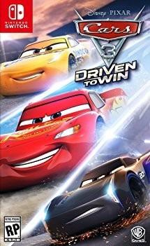 Cars 3 Driven To Win - Switch - Midia Fisica!