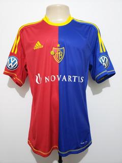 Camisa Oficial Futebol Basel Suíça 2012 Home adidas G Rara