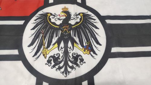 Bandera Imperio Alemán Kaiserliche Kriegsflagge 90 X 150cm