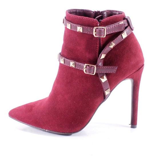 Zapatos Vino Yaeli Fashion