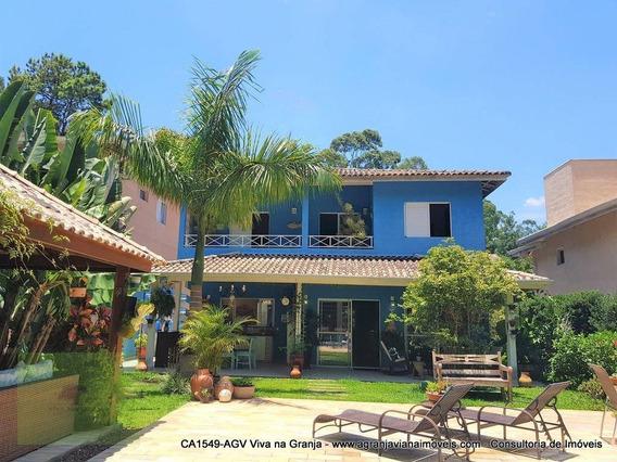 Casa Residencial À Venda, Jardins Da Fazendinha, Granja Viana, Carapicuíba. - Ca1549
