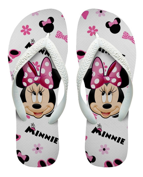 Chinelos Havaianas Personalizados Minnie Mouse Mod - 4