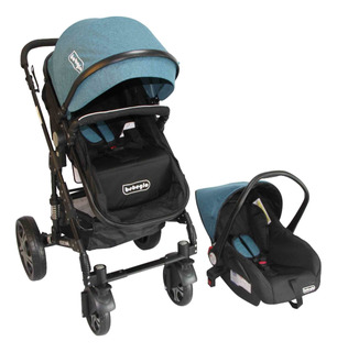 Coche Travel System Orleans Bebeglo Turquesa Rs-13650-6