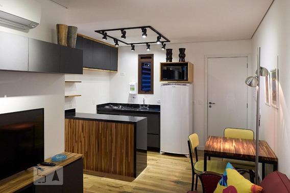 Apartamento Para Aluguel - Santa Cecília, 1 Quarto, 36 - 893114367
