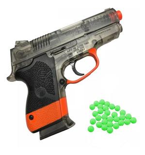 Pistola Aire Comprimido Juguete Tactica Resorte Balines 6mm