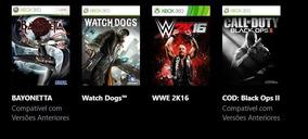 Wwe 2k17 + 26 Jogos Xbox 360 Em Midia Digital Vai Licença