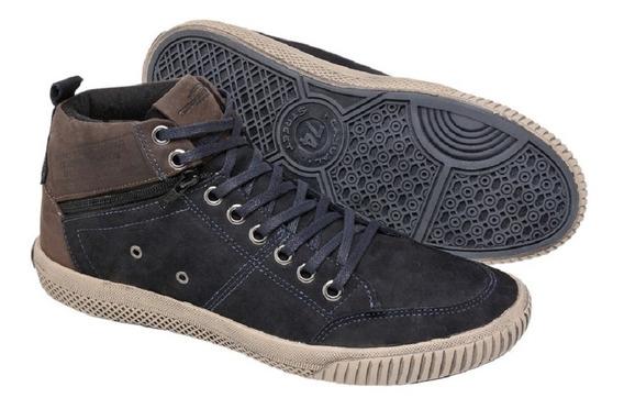 Bota Casual Sapatênis Cano Alto Masculina Tchwm Shoes 5070