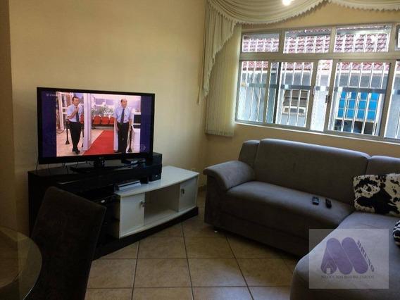 Apartamento Residencial À Venda, Encruzilhada, Santos. - Ap1188