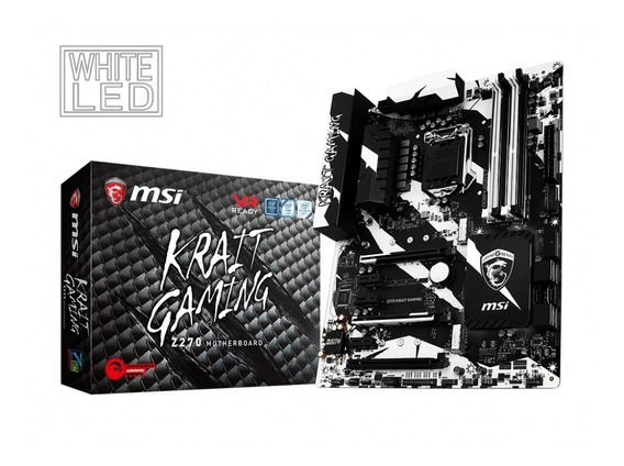Combo Gamer Msi Z270 Krait Gaming + Intel Core I5 7600k