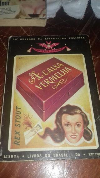 Livro Policial Coleção Vampiro A Caixa Vermelha Rex Stout