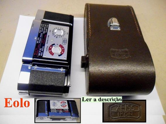 Zeiss Contaflex - Back 200302 C/ Estojo 20785, Novinhos #