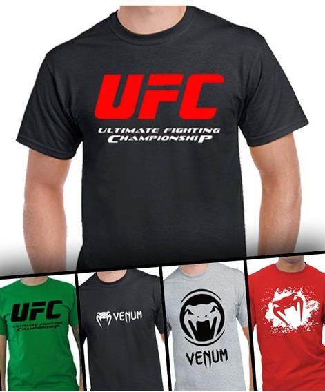 Remera Camiseta Personalizada Ufc Venum Mma