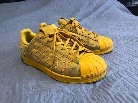 Zapatillas adidas Mujer Ed.limitada. Amarillas