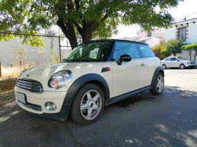 Mini Cooper 1.6 Chili 6vel Aa Tela/piel Qc Mt 2010