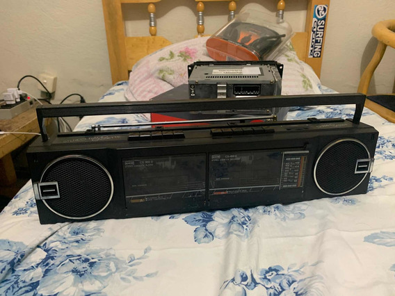Mini Sytem Stereo Rádio Cassete Dubbing System Cce Cs-885