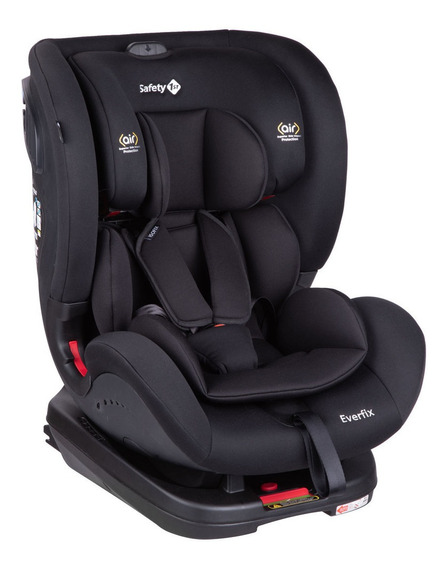 Cadeirinha Com Isofix Everfix 0 A 25kg Safety 1st Full Black