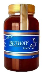 Miel De Abejas 100% Pura Bioway 1 Kg Kosher Liquida