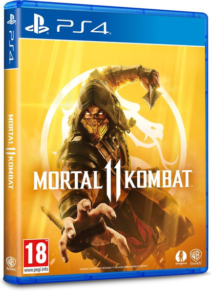 Jogo Mortal Kombat 11 Ps4 Midia Fisica Novo Lacrado Dublado