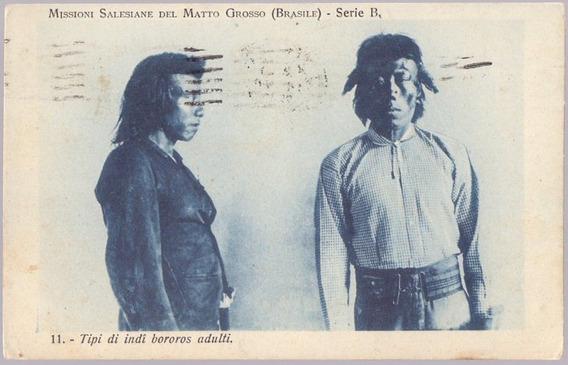Mato Grosso - Indios Bororos - Missão Salesiana - 29061928