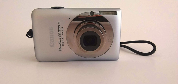 Câmera Digital Canon Powershot Sd1300 Is Elph