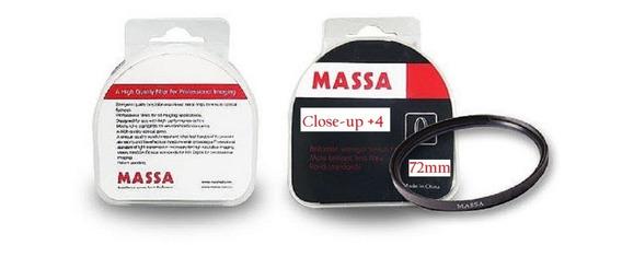 Filtro De Close-up De 72mm + 4 Massa