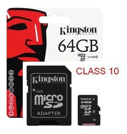Cartão De Memoria 64gb Kingston