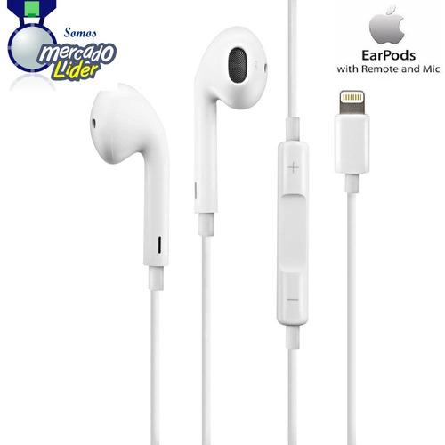 Originales Earpods iPhone 6 Plus Apple Lightning Micrófono