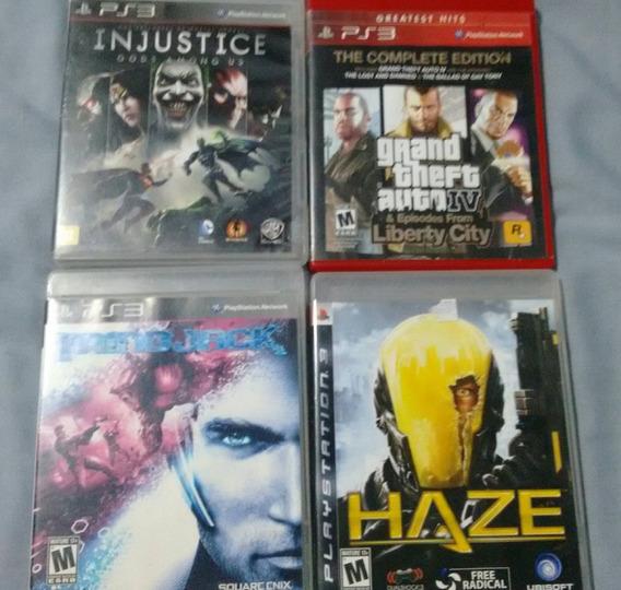 Kit De Jogos De Playstation 3