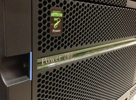 Servidor Ibm Power7 P740 2x Octacore 3.0ghz 128gb Ram 2 Hds