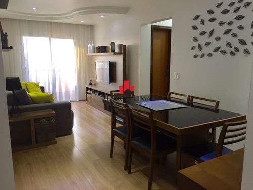 Apartamento De 3 Dormitórios Sendo 1 Suíte E 2 Vagas, Em Água Rasa. - Pe29306