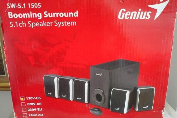 Home Theater Genius Sw 5.1 1505 47watts