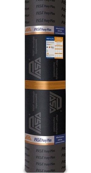 Impermeabilizante Prefabricado Pasa® Pony Plas Sbs Pg 4.5mm