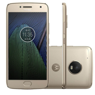 Smartphone Motorola Moto G5s Ouro 5.2 4g Android 7.1 Octa-