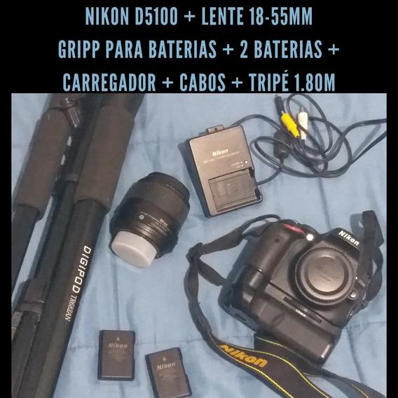 Câmera Dslr Nikon D5100