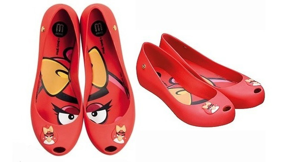 Mel Melissa Ultragirl Angry Birds, 31 E 32/33: R$ 140