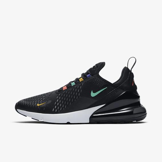 Tenis Nike Air Max 270 Black Colors Hombre
