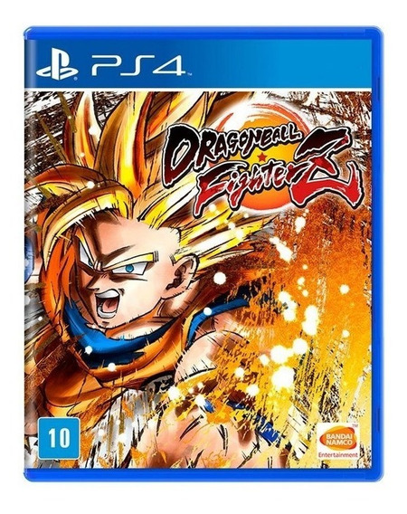 Dragon Ball Fighter Z Ps4 Dbz Mídia Física Lacrado Português