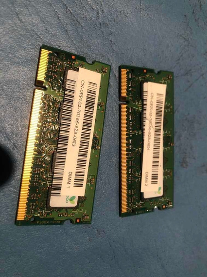 Memoria Ram Ddr2 2gb 2x1 800 Mhz
