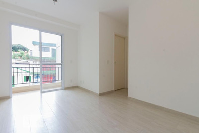 Apartamento No 3º Andar Com 2 Dormitórios E 1 Garagem - Id: 892908023 - 208023