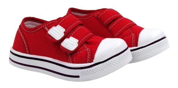 Tênis Star Infantil 18 Até 34 Casual Escolar Ajuste Velcro