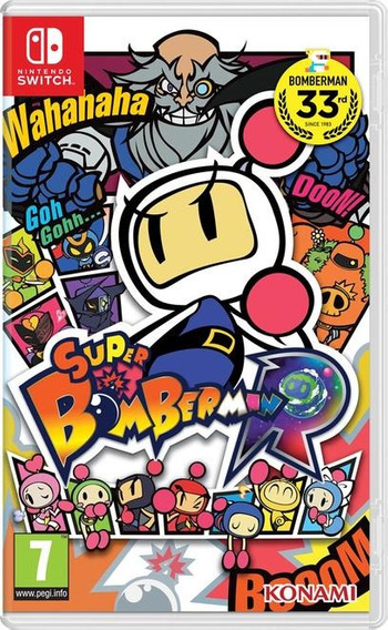 Super Bomberman R Nintendo Switch Lacrado Pronta Entrega !