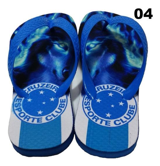 Chinelo Do Cruzeiro - Personalizado Mod 04