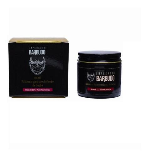 Emperador Barbudo Balsamo Para Crecimiento De Barba Bioxidil