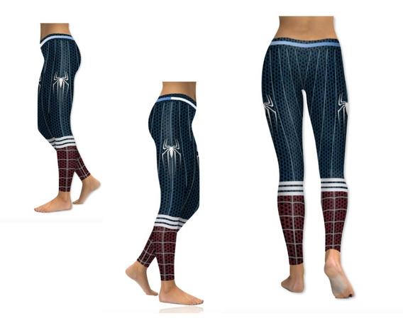 Legging Deportivo De Spiderman Para Mujer Xtreme P