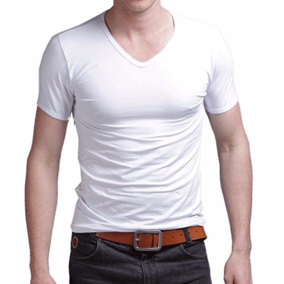 Pack X 3 Remeras Entalladas Slim Fit Para Hombres !