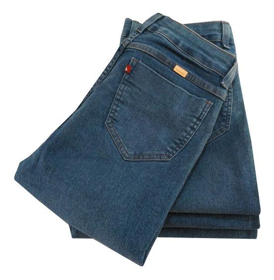 Calça Jeans Feminina Skinny Plus Size Com Lycra 48 Ao 58