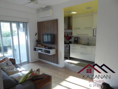 Apartamento Gardem 2 Dormitórios Lazer São Vicente Sp - 4882