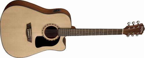Imagen 1 de 5 de Guitarra Electroacústica Dreadnought Washburn Ad5ce